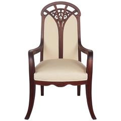 Art Nouveau Armchair by Majorelle