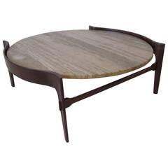 Bertha Schaefer Danish Styled Coffee Table for Singer & Sons
