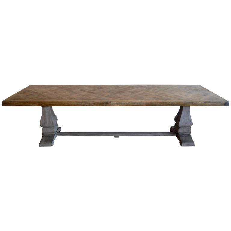 this two pedestals large dining table is no longer available