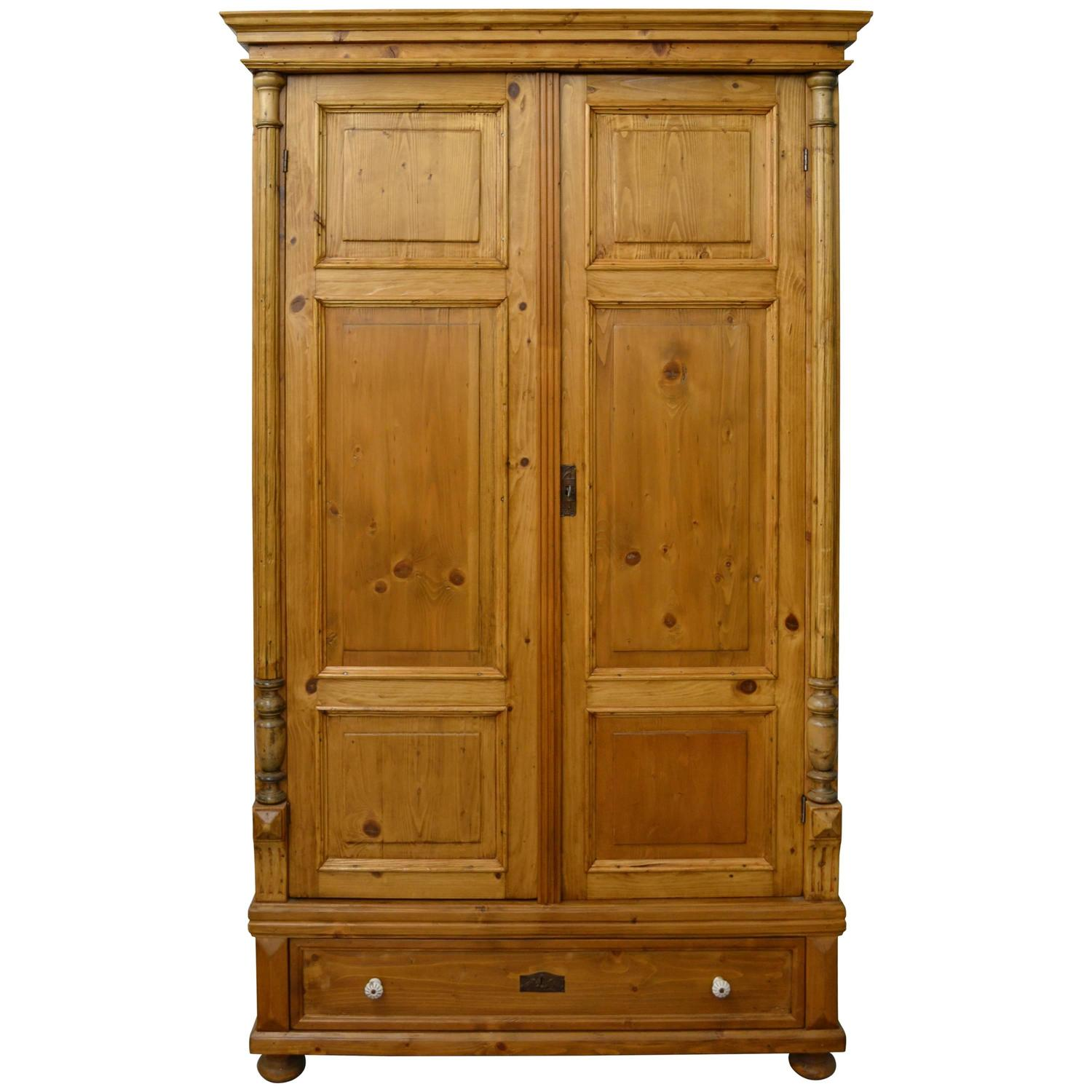 Armoire Dresser For Sale Pine Armoire For Sale At 1stdibs