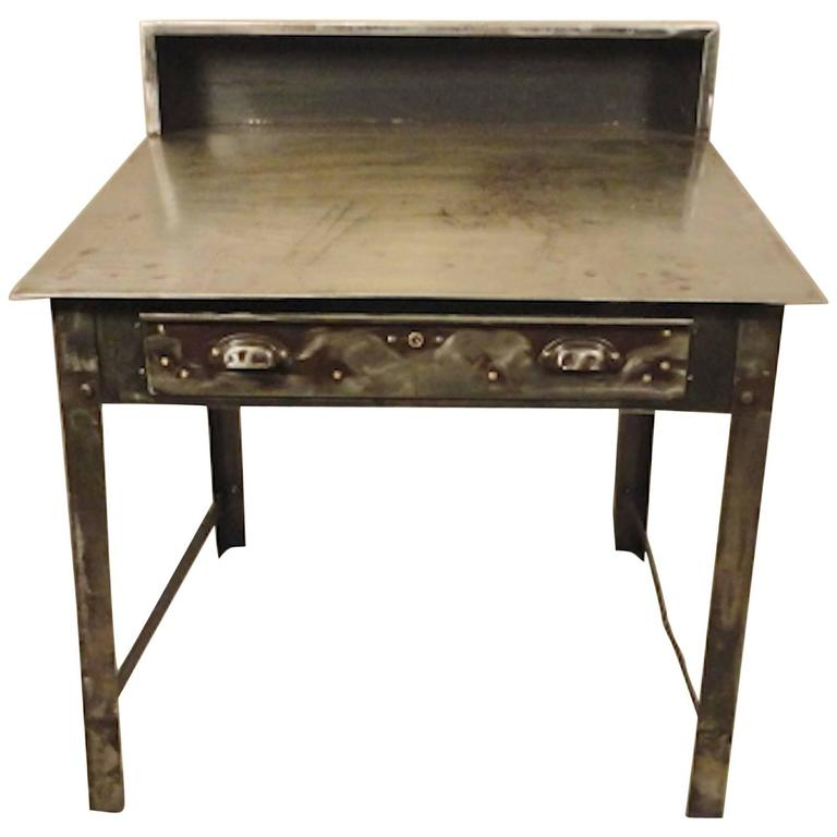 Industrial factory cart as console table 35 h for sale at for 35 console table