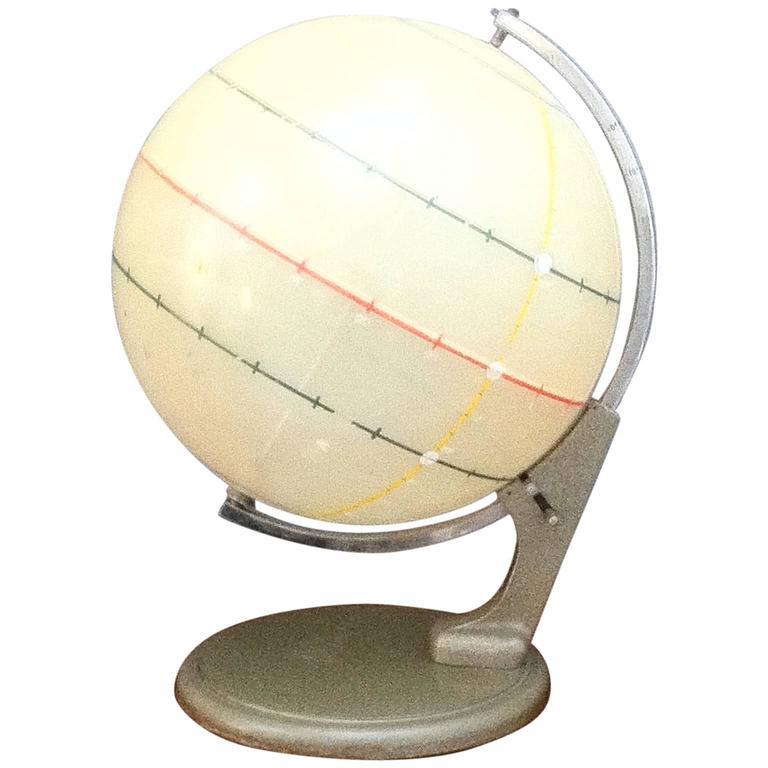 Mid-Century Scientific Globe