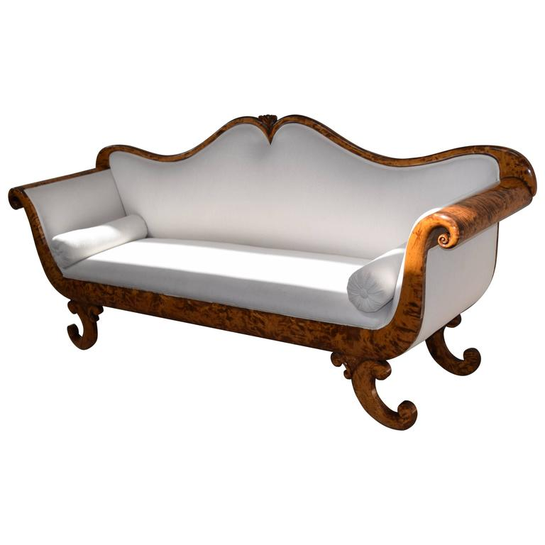 Dramatic biedermeier sofa for sale at 1stdibs Biedermeier sofa