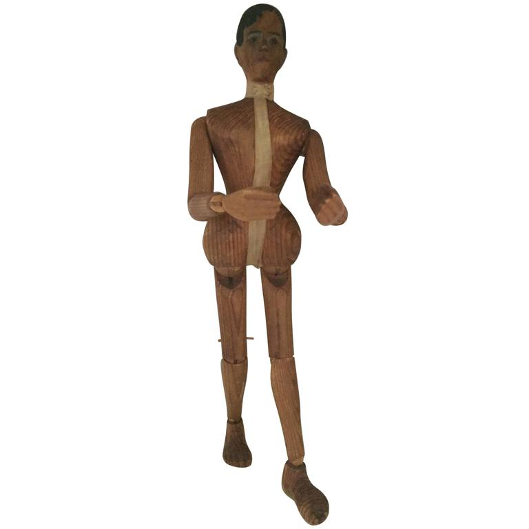 Lay Figure or Artist Mannequin, 19th Century For Sale