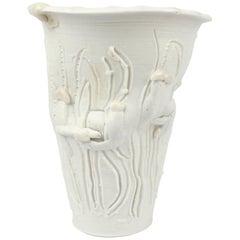 """Large Complex Light Gatherer Porcelain Vase by Rudolf """"Rudy"""" Staffel"""