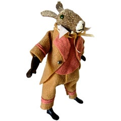 "Clockwork ""Walking Rabbit with Basket"", circa 1890"