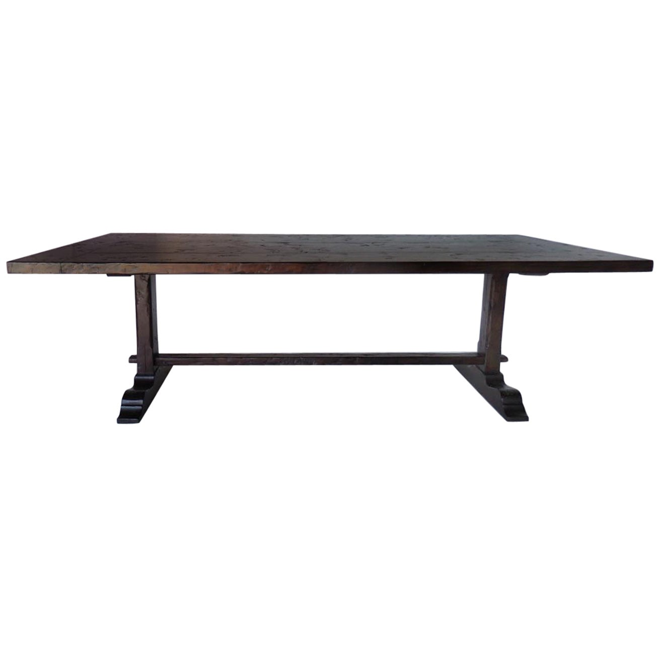 Dos Gallos Custom Trestle Table