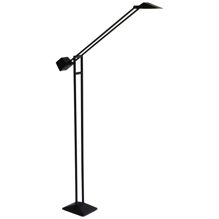 Post-Modern Articulated Floor Lamp