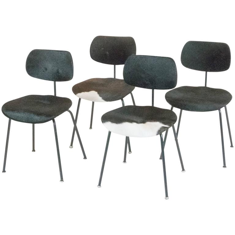 Set of Four SE-68 Chairs by Egon Eiermann