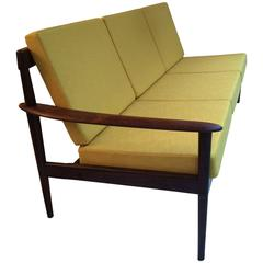 Early Four-Seat Rosewood Sofa by Grete Jalk