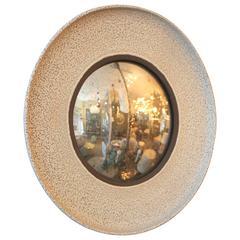 Warner Walcott Ceramic Convex Mirror