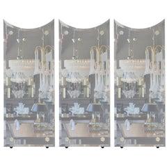 Set of Three Venetian-Style Donghia Mirrors