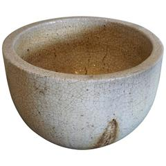 Crackled Glaziers Crucible Planter
