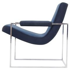 Handsome Milo Baughman Club Chair for Thayer Coggin