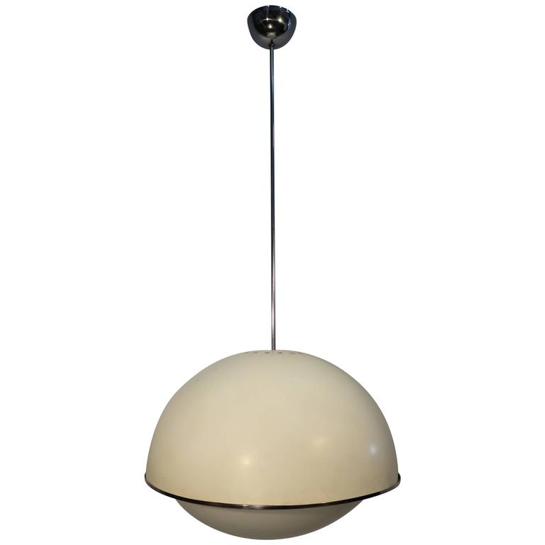 Italian Design Pendant by Fontana Arte Model 2492 Ca 1960