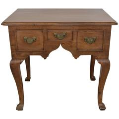 Queen Anne Period Lowboy, Late 18th Century