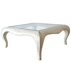 Hollywood Regency Marble Coffee Table