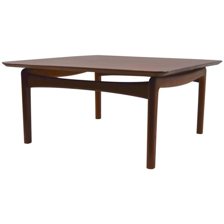 Danish Teak Coffee Table by Hvidt