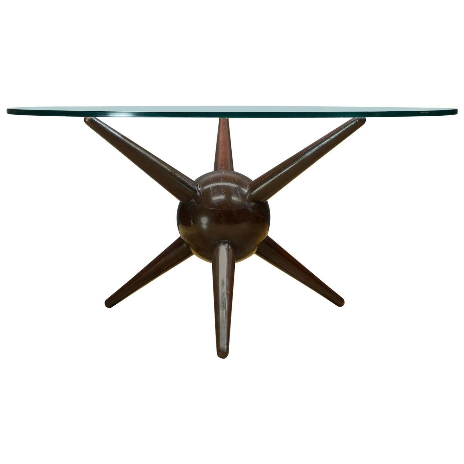 Extremely Rare Gio Ponti Jack Table For Sale at 1stdibs