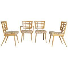 1950s American Modern Maple Dining Chairs