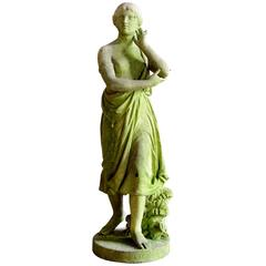 19th Century Marble Statue of Echo