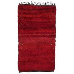 """Firebird"", Zayan Moroccan Berber Carpet"