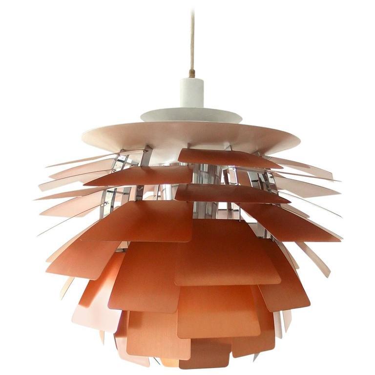 early poul henningsen artichoke lamp for louis poulsen. Black Bedroom Furniture Sets. Home Design Ideas