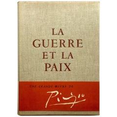 Picasso - La Guerre Et La Paix 1st ed. 1954