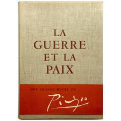 Picasso 'La Guerre Et La Paix' Book