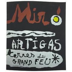 """""""Miró & Artigas - Terres De Grand Feu"""" Catalogue"""
