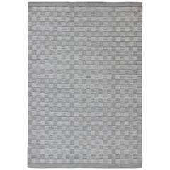 Großer Teppich Modernes Skandinavisches / Schwedisches Geometrisches Design