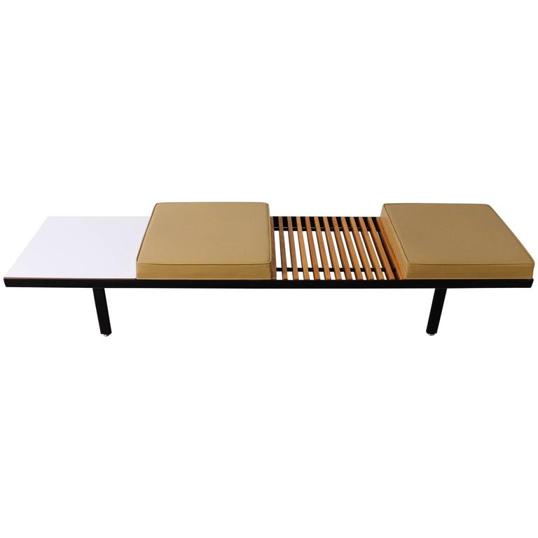 Steel Contract Bench by George Nelson for Herman Miller 1