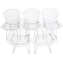 Knoll Side Chairs by Harry Bertoia