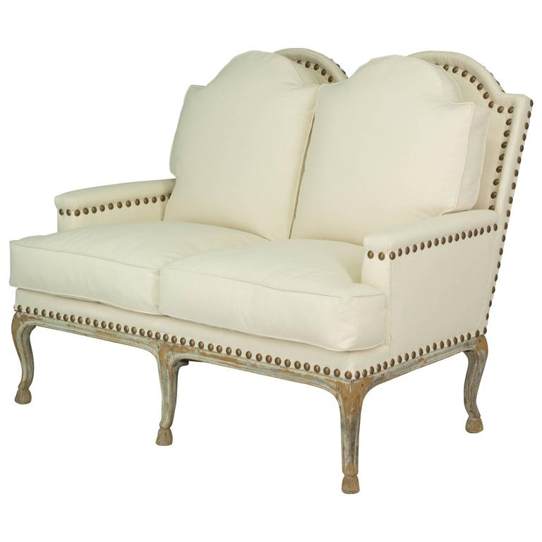 19th Century Louis XV Style French Settee