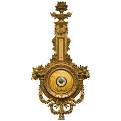 Giltwood Italian Barometer