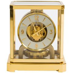 1960s Jaeger-LeCoultre Atmos Perpetual Motion Mantle Clock