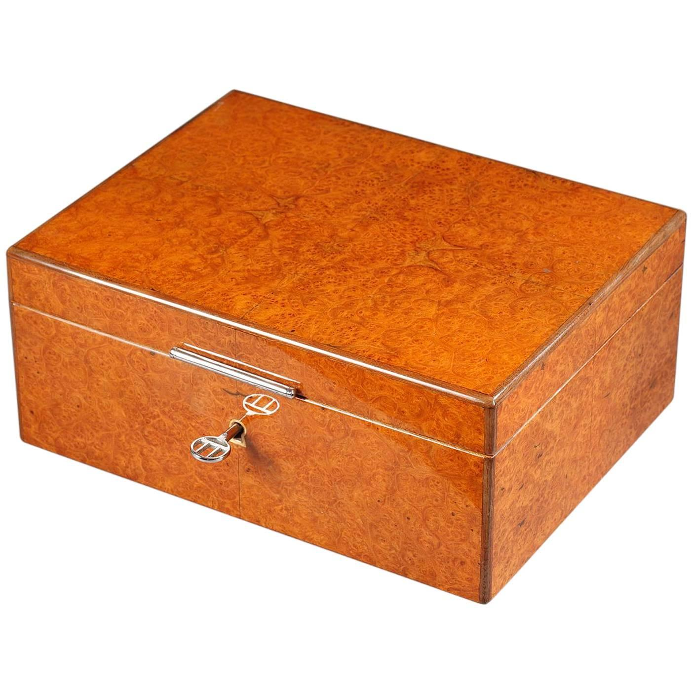 Dunhill Wooden Cigar Box 1970s At 1stdibs