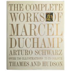 """""""Das Gesamtwerk von Marcel Duchamp"""" Katalog - 1969"""