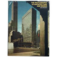 """""""The Photography of Architecture and Design"""" Book by Julius Shulman - 1977"""