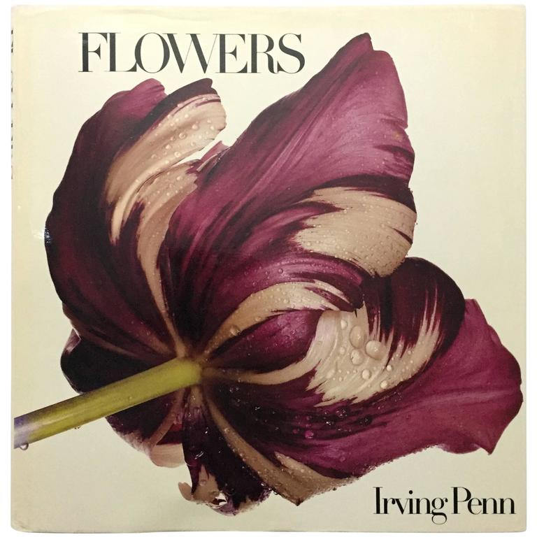 """Irving Penn Flowers"" Book - 1980"