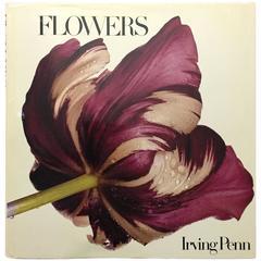 """""""Irving Penn Flowers"""" Book - 1980"""