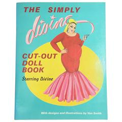 Simply Divine Cut-Out Doll Book by Divine & Van Smith