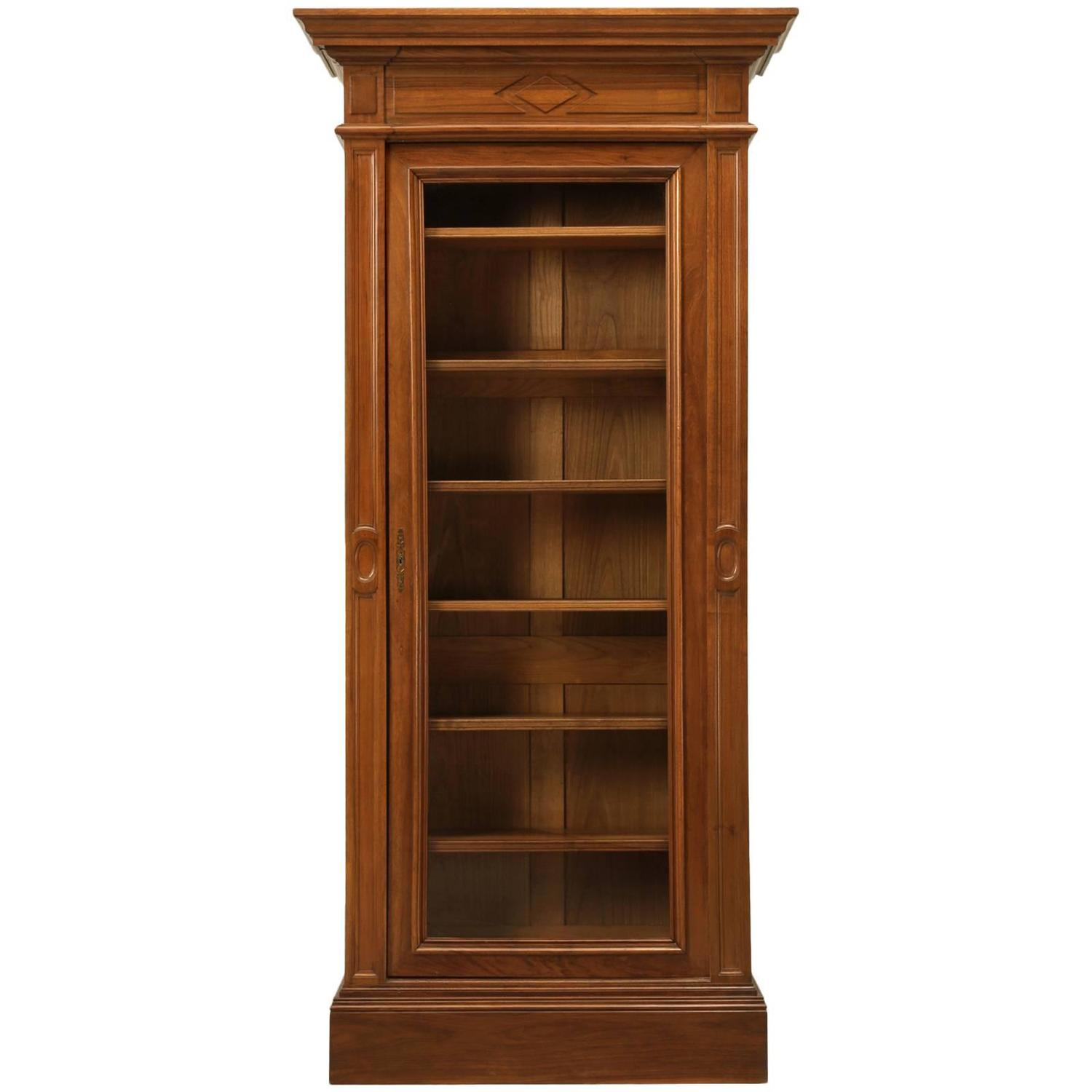 vintage bookcase for sale antique bookcase in solid walnut for at 1stdibs 6779