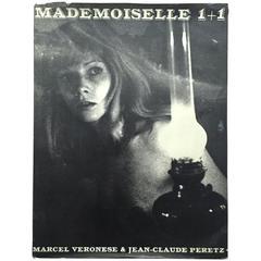 "Marcel Veronese & Jean-Claude Peretz Book, ""Mademoiselle 1+1"" - 1968"