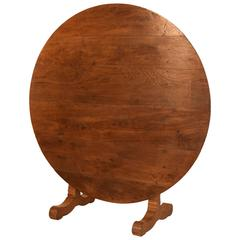 19th Century French Wine Table in Oak