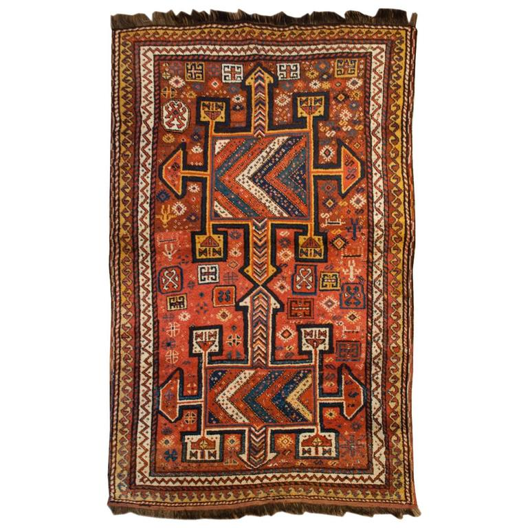 Magnificent Early 20th Century Lori Rug