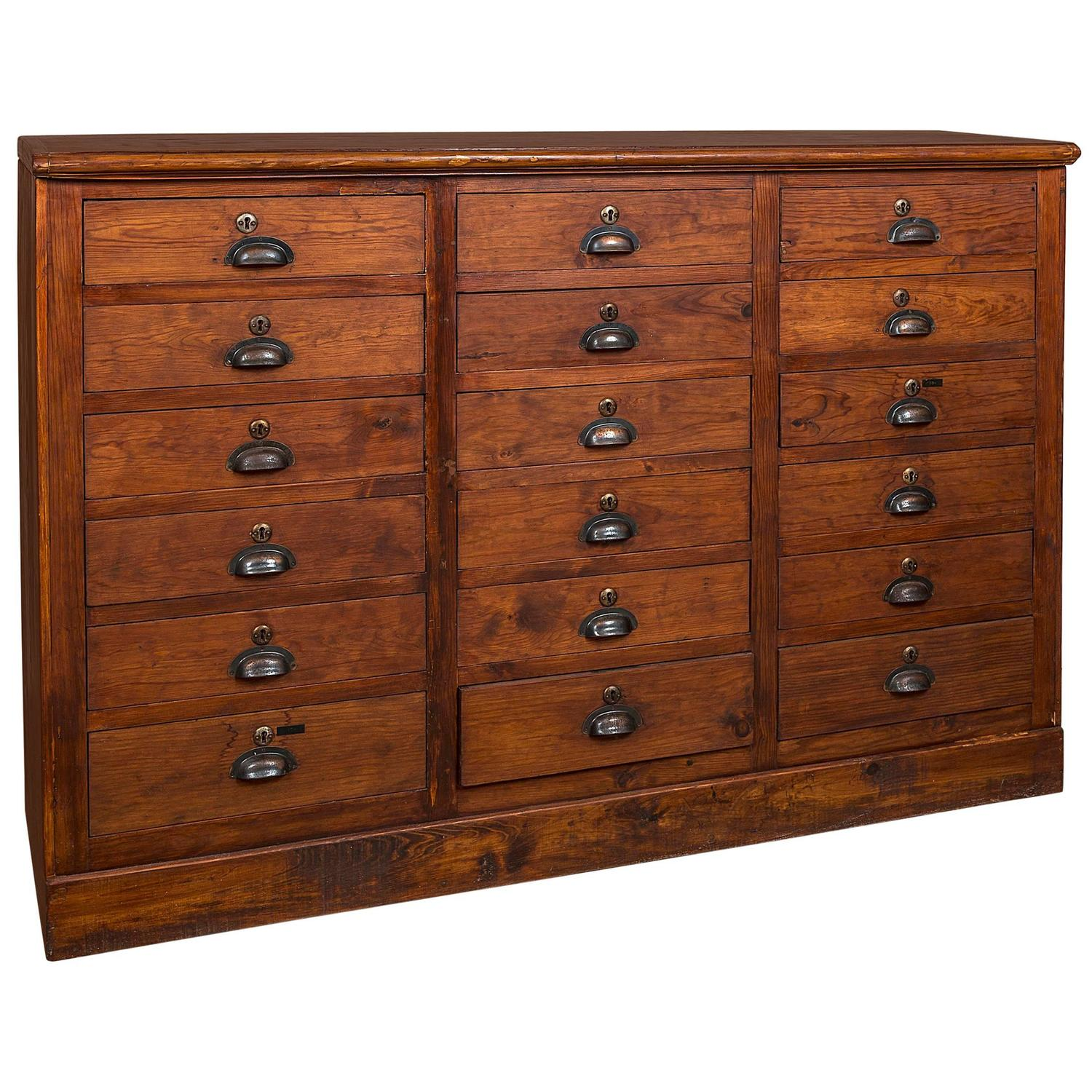 Early 20th Century Apothecary Cabinet At 1stdibs