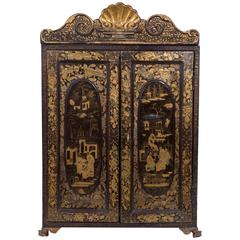 Early 19th Century Chinese Export Laquer Chest