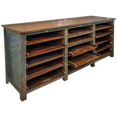 Cabinet with Sliding Drawers