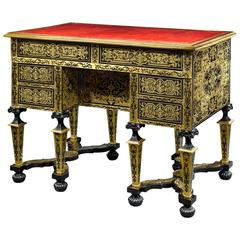 19th Century French Boulle Marquetry Desk